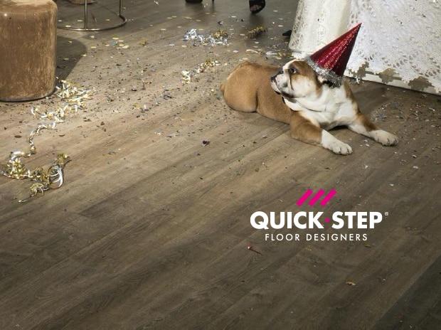 Quick-Step Vodeodolné laminátové podlahy