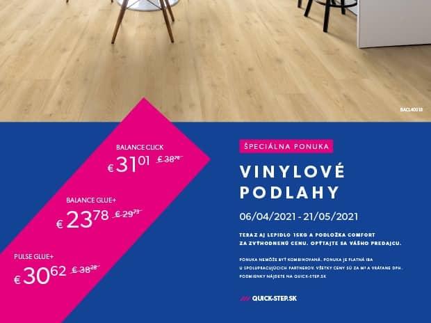 Quick-Step Vinylové podlahy